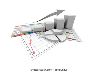Business graphic, chart, diagramm, bar