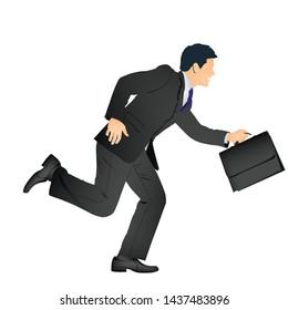 Business man flat Illustration design