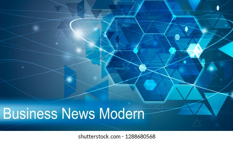 Business New Modern Background