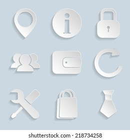 Business Paper Icons Vol2