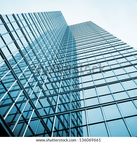 business presentation background skyscraper glass reflectionの