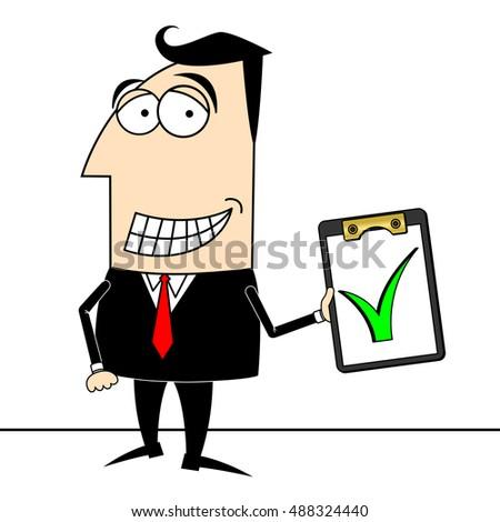 royalty free stock illustration of businessman checkup clipart stock rh shutterstock com clip art business man with key clipart business man woman
