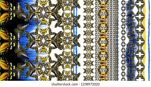 butterfly abstrack pattern