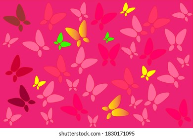 Butterfly wallpaper Design For commercial use.