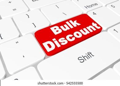 """Button """"Bulk discount"""" on 3D keyboard"""