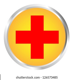 Button red Cross