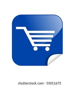 button shopping card