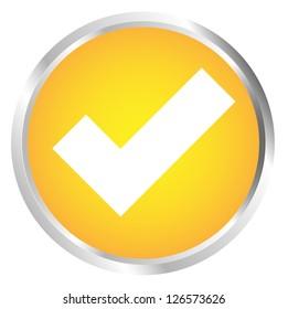 Button Tick icon