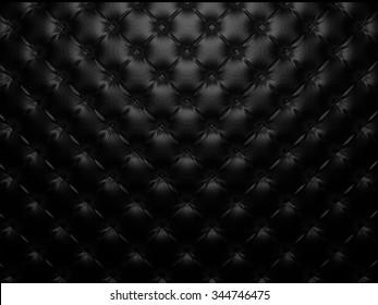 Buttoned luxury leather pattern. Useful as luxury pattern. 3D render