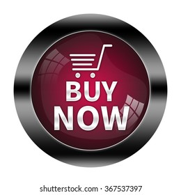 buy now button isolated