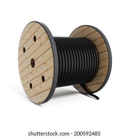 Cable drum  Industrial hose reel