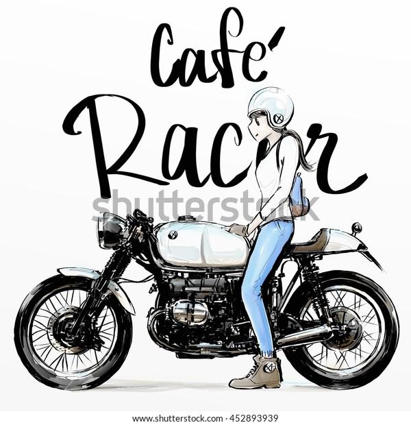 Cafe Racer Bike