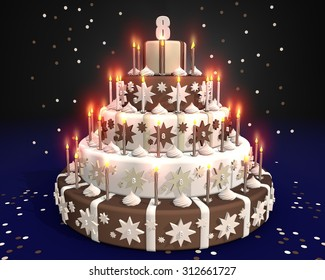 Admirable 8 Year Old Birthday Images Stock Photos Vectors Shutterstock Funny Birthday Cards Online Chimdamsfinfo