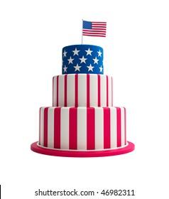Phenomenal American Cake Images Stock Photos Vectors Shutterstock Funny Birthday Cards Online Necthendildamsfinfo