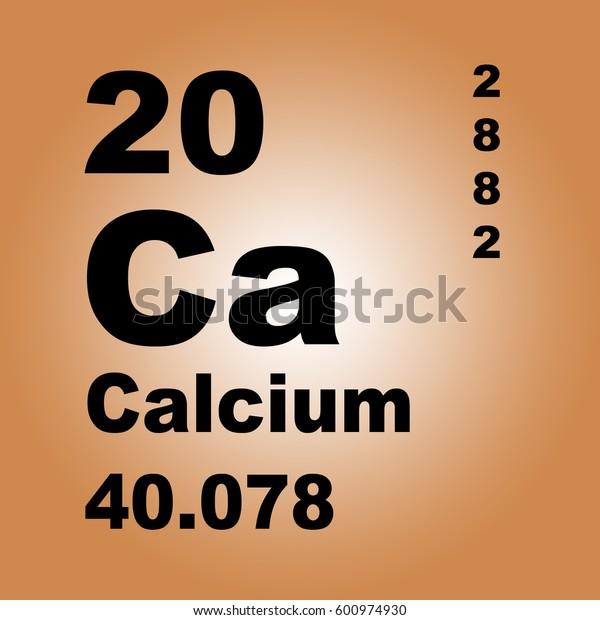Calcium Periodic Table of Elements