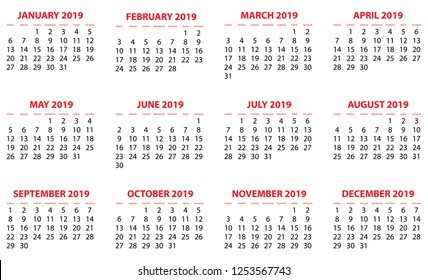A Calendar Isolated on a Background