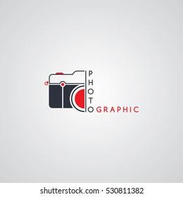 camera photography logo logotype