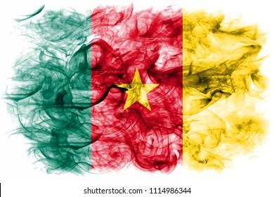 Cameroon smoke flag