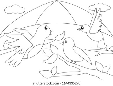"""Camille Saint-Saëns """"Carnival of the Animals"""" colouring activity sheets for kids. Great activity for birthday occasions"""