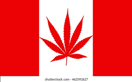 Marijuana Flag