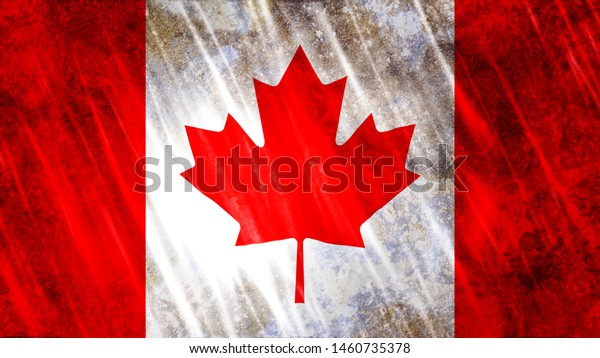 Canada Flag Print Wallpaper Purposes Size Backgrounds