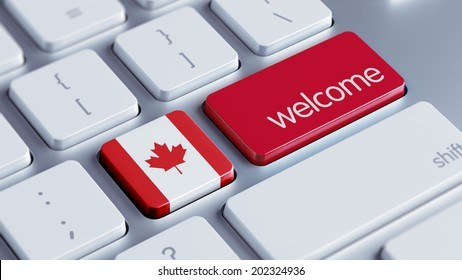 Canada High Resolution Welcome Concept