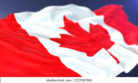 Canada lag 3d render for background