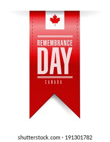 canada remembrance day texture banner illustration design over a white background