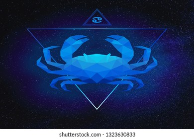 Cancer is the fourth astrological sign in the Zodiac, originating from the constellation of Cancer. It spans from 90° to 120° celestial longitude.