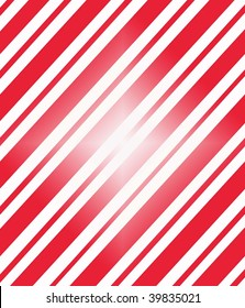 Candy cane patterned paper with a white flash in the middle.