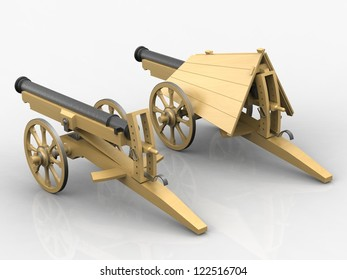 Cannon; Leonardo da Vinci; Codex Atlanticus 0032r