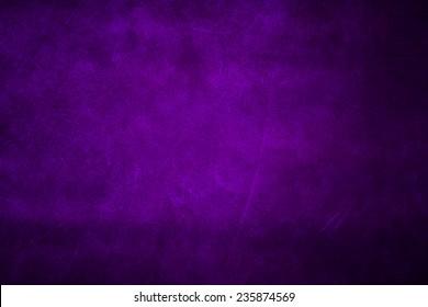 Canvas textured purple background.