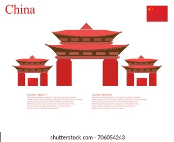capital set red collection welcome to China