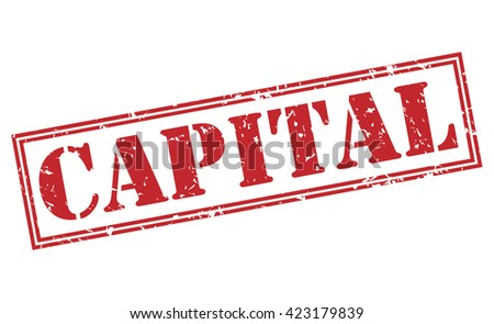 Royalty Free Stock Illustration Of Capital Stamp