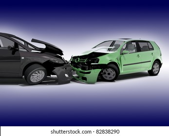 Auto Accident Stock Illustrations, Images & Vectors