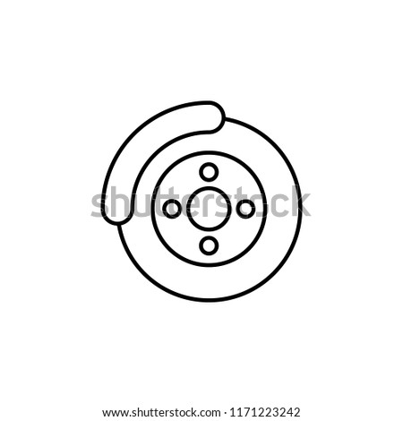 Car Brake Icon Element Car Workshop Stock Illustration 1171223242