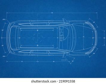 Car Concept Blueprint