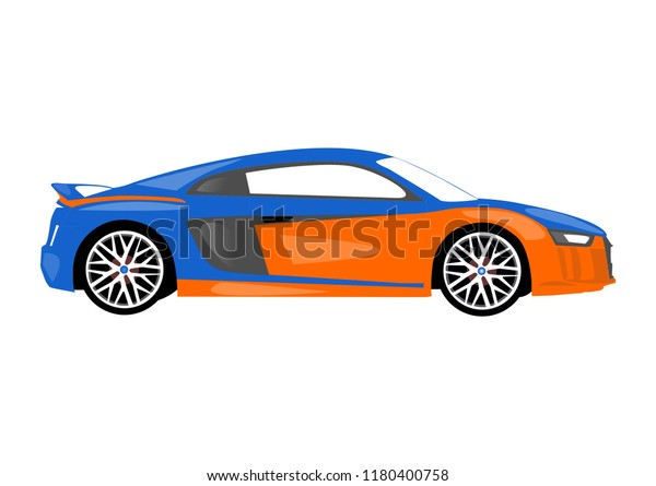 Car Drawing Line Colour Stock Illustration 1180400758