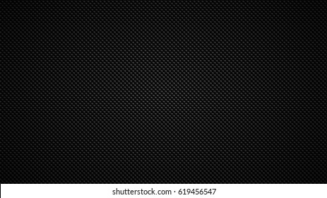Carbon fiber. Geometric grid background. Modern dark abstract seamless texture.