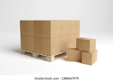 carboxes on a white background