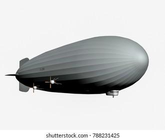 Cargo hold Gas balloon