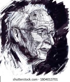 Carl Gustav Jung born 1875, Swiss psychiatrist and educator
