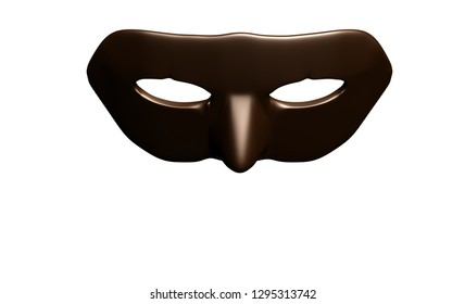 carnival mask, illustration, isolated