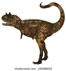 Carnotaurus Dinosaur - Carnotaurus was a theropod carnivorous dinosaur that lived in Argentina in the Cretaceous Period.