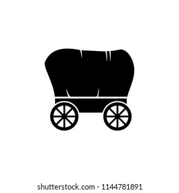 carriage icon. Element of wild west icon for mobile concept and web apps. Material style carriage icon can be used for web and mobile