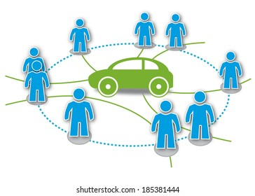 Carsharing or car sharing is a model of car rental where people rent cars for short periods of time, often by the hour