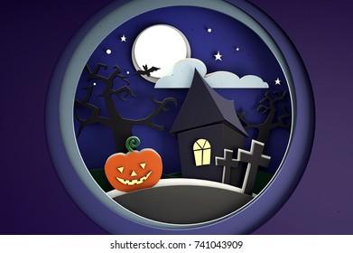 Carton halloween