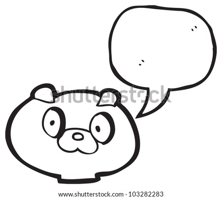 Cartoon Dog Face Stock Illustration 103282283 Shutterstock