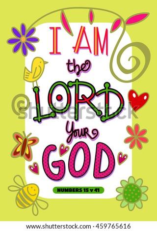 cartoon doodle text art bible scripture stock illustration 459765616
