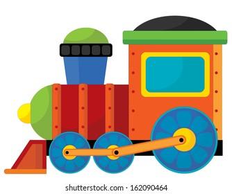 Cartoon element - toy - illustration for the children
